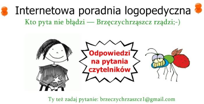 Internetowa poradnia logopedyczna