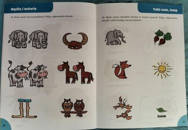 Słonie – konie, krowy – sowy – podobieństwa i różnice na przykładzie zjawisk ulotnych, tj. słów.